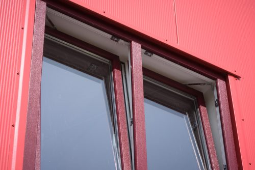 Bouwplast draai-kiep raam
