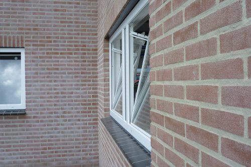 Bouwplast hopper windows with flat profile