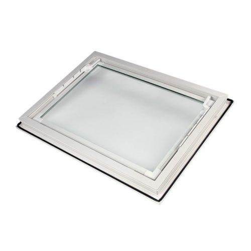 Bouwplast Easy hopper windows with overlap flange profile