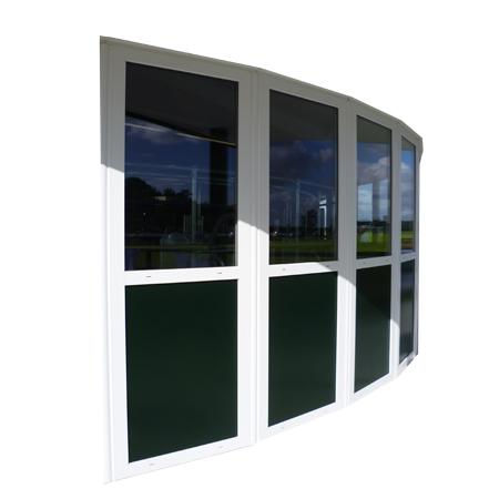 Bouwplast customised gable facade windows