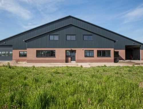 Dairy farm H. de With chooses Bouwplast Exclusive PVC windows