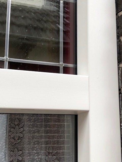 Bouwplast Exclusive kunststof raam- en deurkozijnen met glas in lood