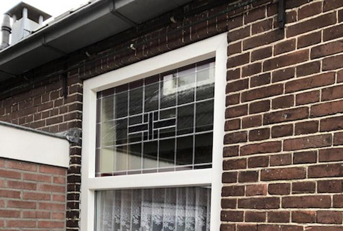 Bouwplast Exclusief Raam- en deurkozijnen met glas in lood