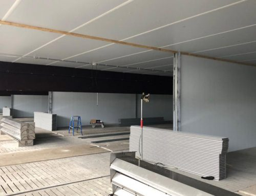 Nieuwbouw varkensstal in Veendam