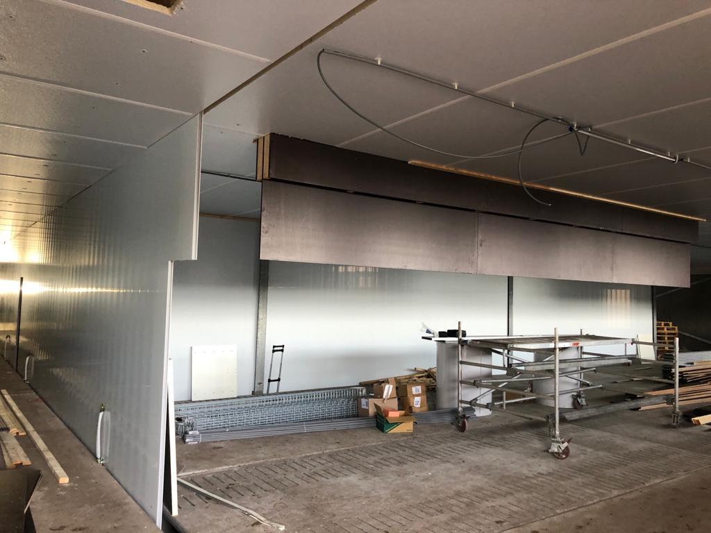 Nieuwbouw brandveilige varkensstal in Veendam