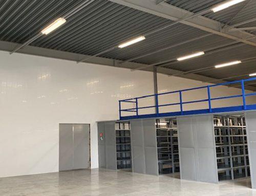 Nieuwe moderne productieafdelingen in loodshal gerealiseerd