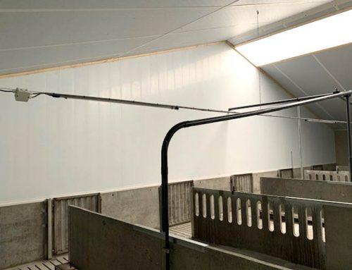 Nieuwbouw varkensstal Handelshuis Schuttert