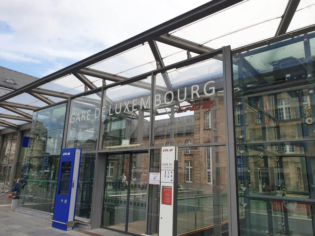 MEA lijnafwatering Station Luxemburg