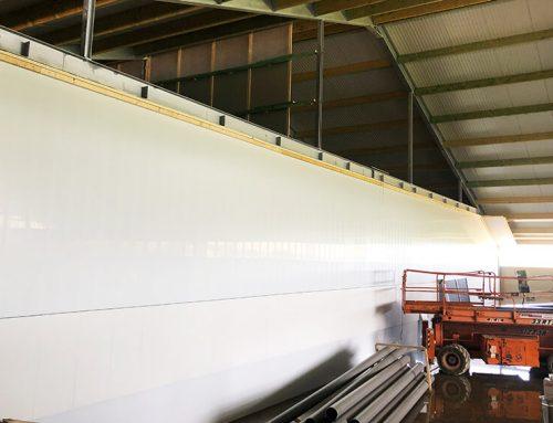 Verluchtingssysteem van Bouwplast panelen